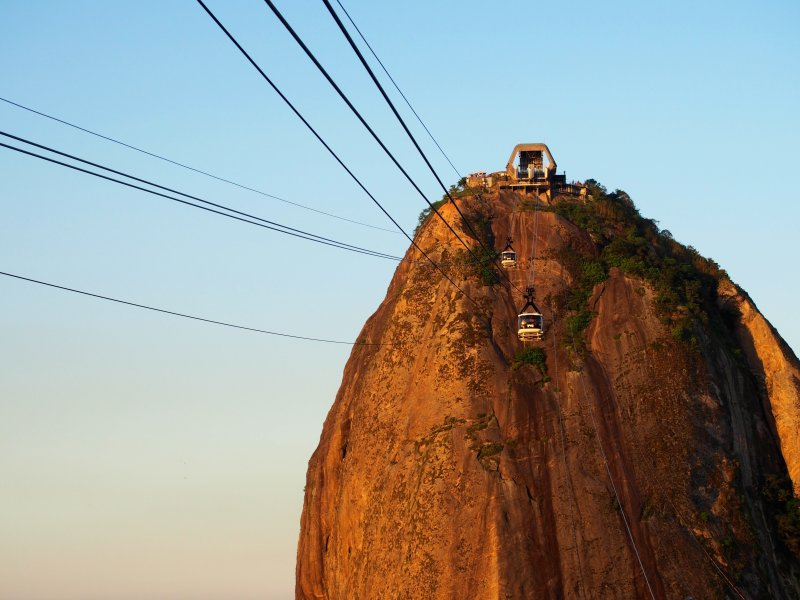 纜車成為麵包山特別的亮點之一。(圖/OIan Carvell@flickr)