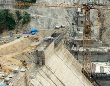 密松大壩工程。(取自網路)