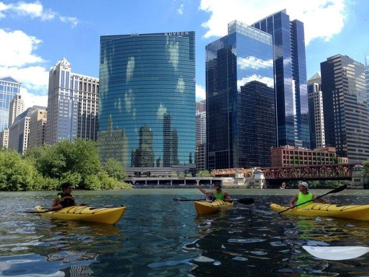 芝加哥獨特的城市河景,值得在留學期間好好體驗。(圖/Jrrugg94@wikipedia)