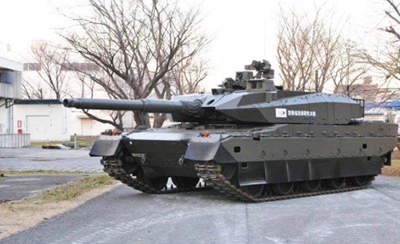 日本10式戰車。(新華網)