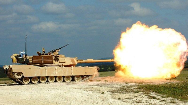 陸軍最想買的美軍M1A2戰車。(新浪軍事)
