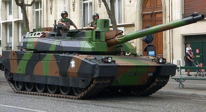 台有意採購的法國雷克勒戰車。(來源:www.mdc.idv.tw)