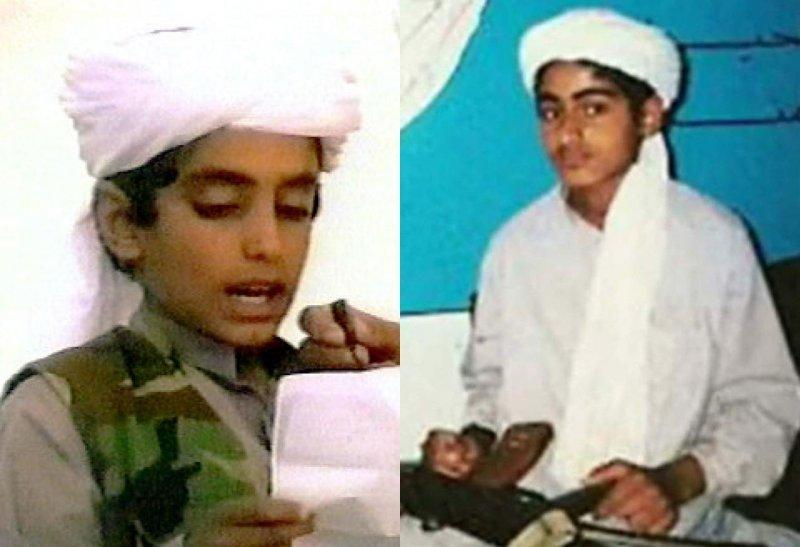 賓拉登(Osama bin Laden)的兒子哈姆札.賓拉登(Hamza bin Laden)(取自YouTube)