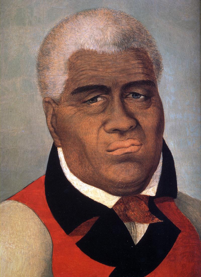 建立夏威夷王國的卡美哈梅哈一世。(維基百科,Public Domain)