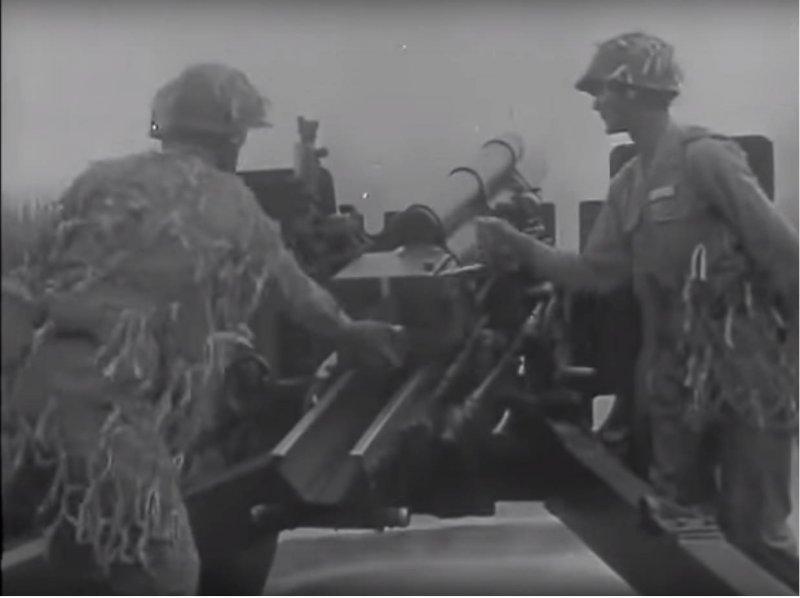 民國47年的八二三砲戰(國防部發言人臉書)