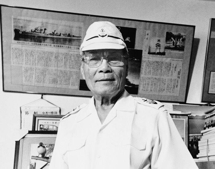 歷經太平洋戰爭與國共內戰的台籍老兵許昭榮。攝影:潘小俠(圖/取自想想論壇)