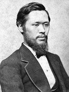 森有禮早期留學英國,又有「日本現代教育之父」之稱。(圖/wikipedia)