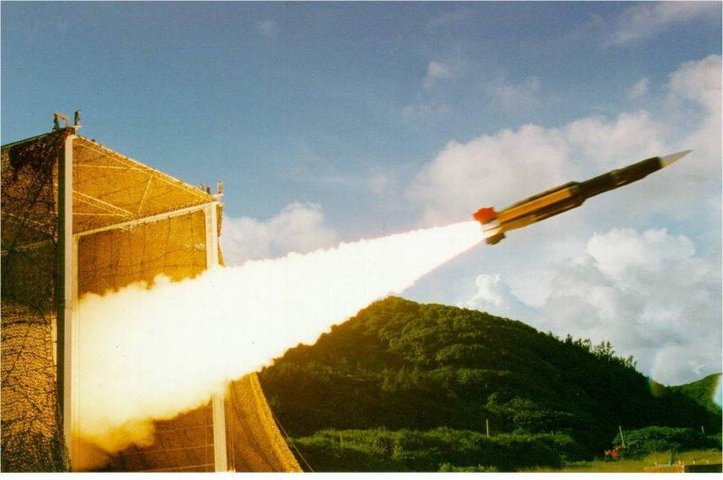 雄風三型反艦飛彈雄三飛彈。(取自中山科學研究院)