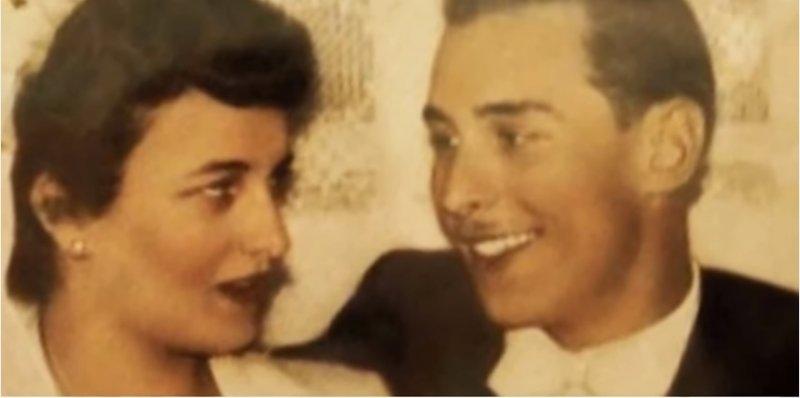沃夫與艾妮塔一見鍾情,1954年結婚。(翻攝自Youtube)