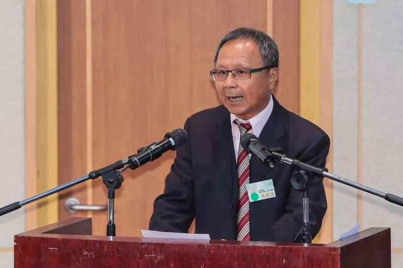 20160827-前教育部長部杜正勝27日出席「人民直選總統暨台灣民主發展二十週年」研討會。(顏麟宇攝)