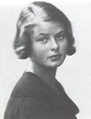 14歲的英格麗.褒曼。(維基百科/public domain)