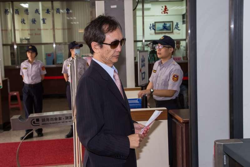 20160830-吳子嘉30日至高等檢察署為頂新政治獻金案出庭應訊。(顏麟宇攝)