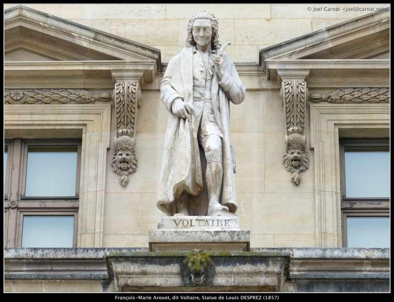 法國思想之父伏爾泰曾說:「衡量一個人,得看他問什麼問題,而不是看他給什麼答案。」(圖/Carnat Joel@flickr)
