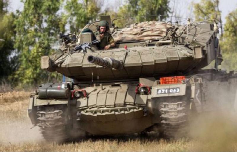 以色列Pereh坦克原是機動導彈發射器。