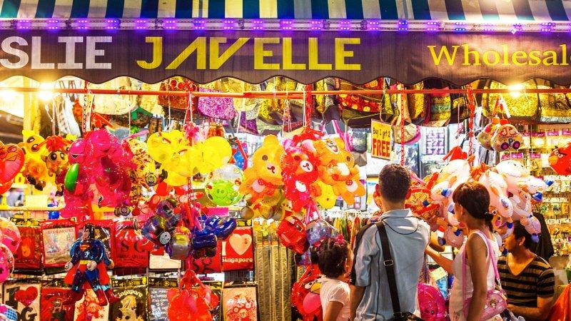 新加坡中秋節氣氛最濃郁的街區牛車水(圖/新加坡旅遊局)