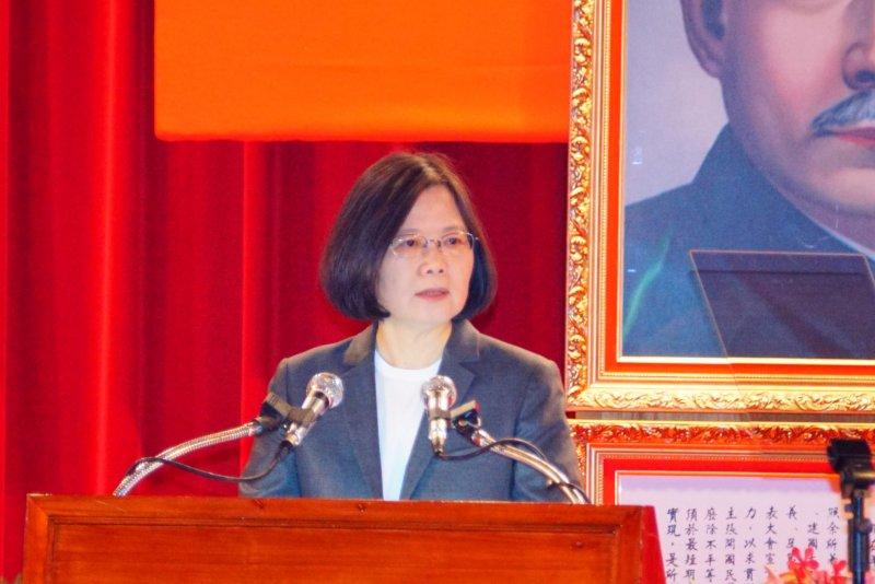 總統蔡英文出席105軍人節暨國防教育日表揚活動