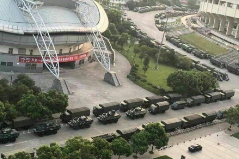 杭州G20峰會維安如臨大敵。(微信)