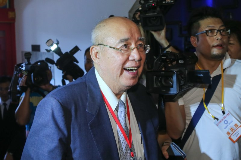 20160904-中國國民黨第19次全國代表大會.吳伯雄(陳明仁攝)