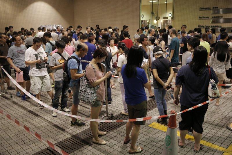 香港立法會選舉4日投票(AP)