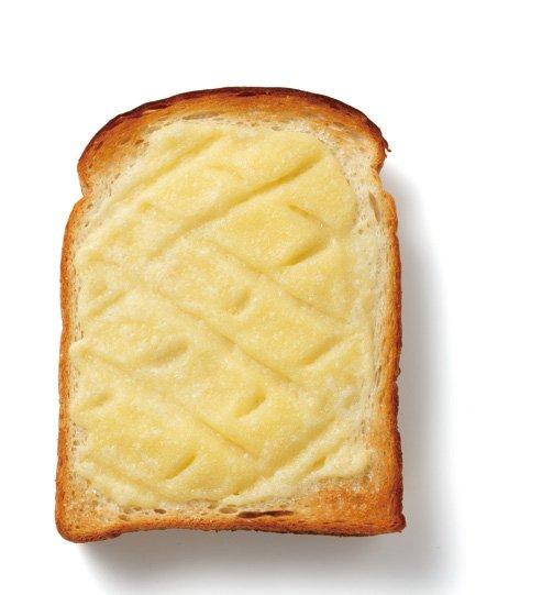 難道這就是傳說中的那個甜麵包嗎?菠蘿⋯⋯?