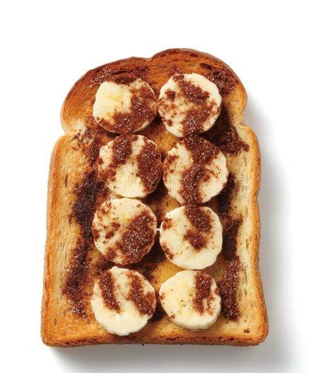 大家都喜歡的口味。如果用冷凍香蕉就是果醬風?