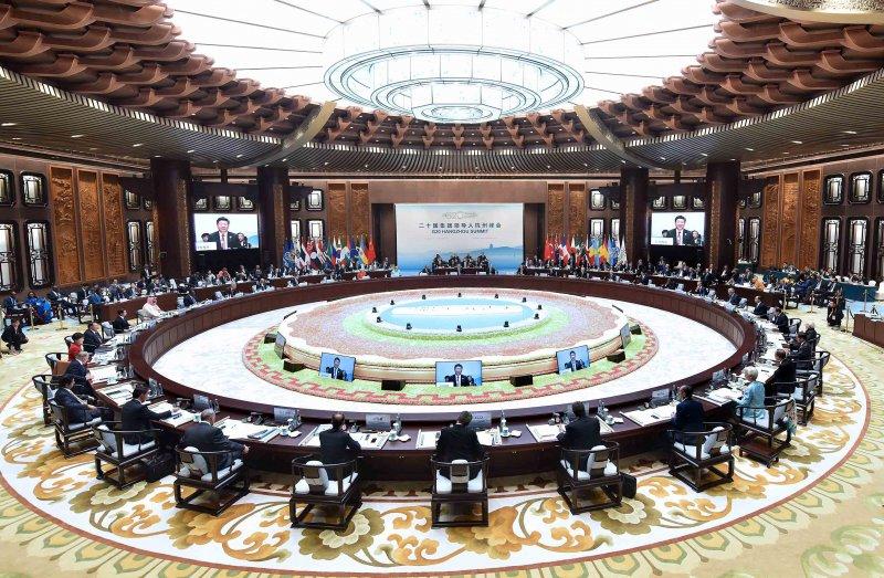 20國集團(G20)領導人第11次峰會在杭州國際博覽中心舉行(新華社)