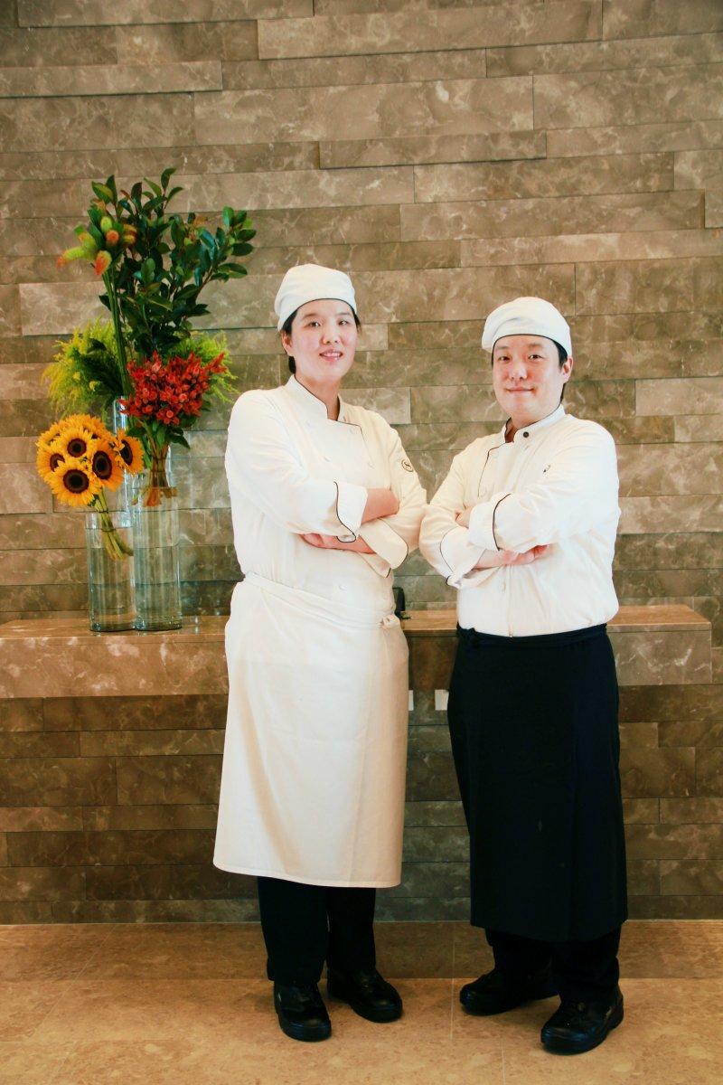 由客座主廚金起永及金妍妮親自料理,來自澎湖的海鮮與正宗韓食的揉合。(圖/澎湖福朋喜來登酒店提供)