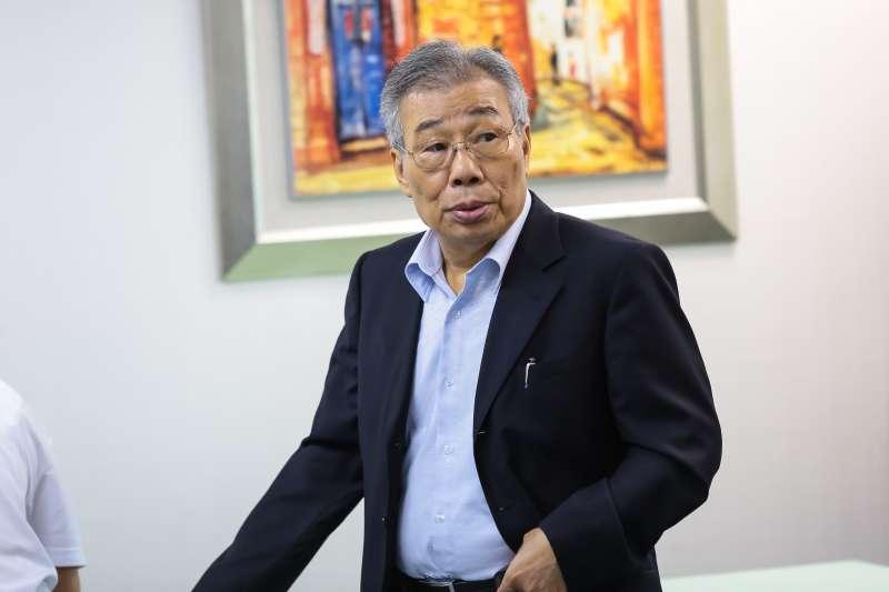 20160907-民進黨中常委黃金春7日出席民進黨中常會。(顏麟宇攝)