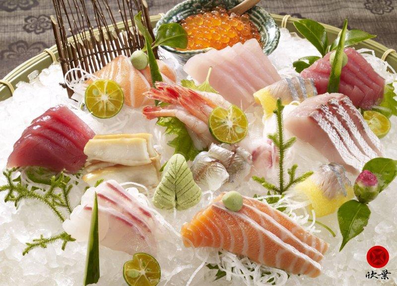 各式各樣的生魚片讓你吃到飽!(圖/欣葉日本料理@facebook)