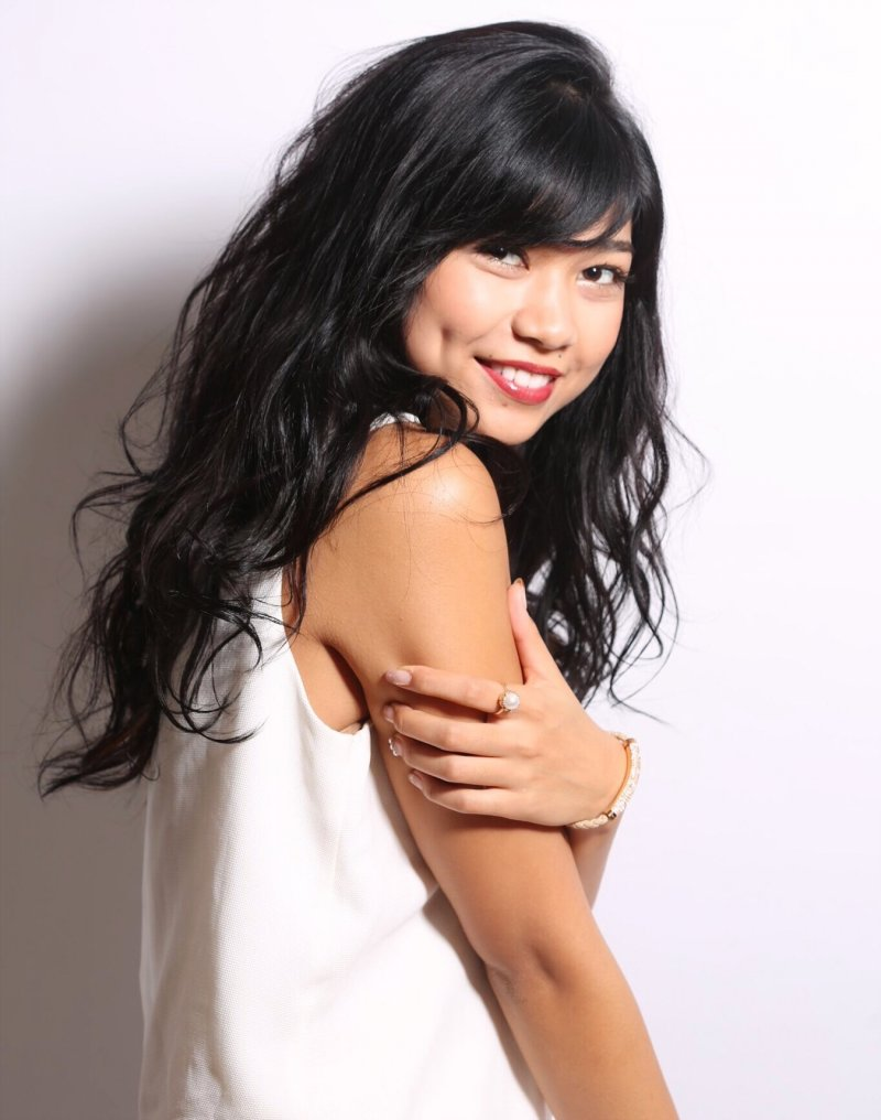 奪下世界小姐日本代表后冠的吉川普莉安卡。(取自吉川普莉安卡個人網站)