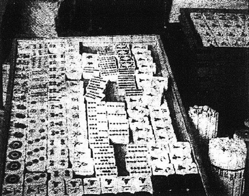 日治時期的麻雀牌(圖/蔚藍文化提供)
