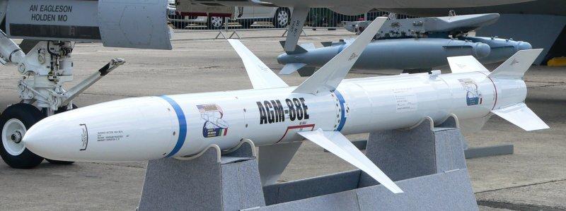 AGM-88E HARM飛彈(取自維基百科,David Monniaux 攝/CC BY 4.0)