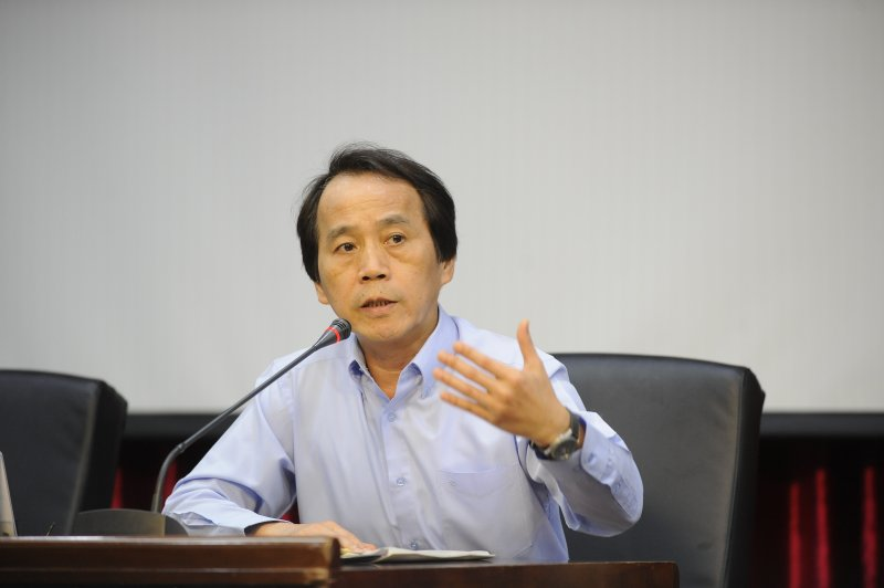 台北市政府公布土壤液化潛勢圖,副市長林欽榮-甘岱民攝