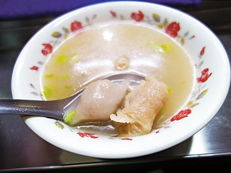 精實的扁食燕,嚐起來美味飽滿。(圖/天下雜誌提供)