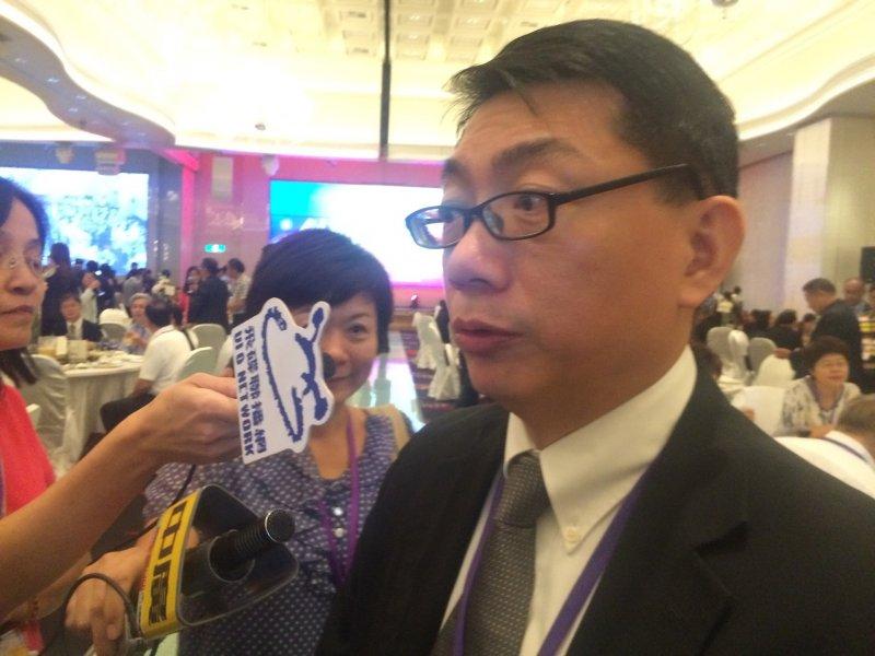 的哈爾濱台商協會常務副會長徐正文。(石秀娟攝)