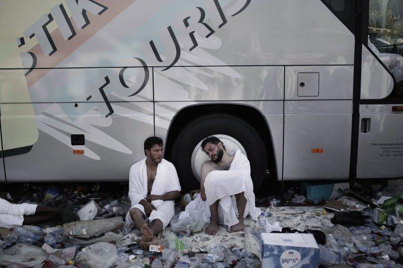 麥加高速商業化讓許多穆斯林搖頭。(美聯社)