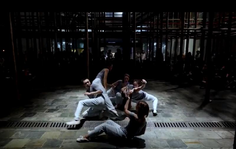 「董怡芬X 安娜琪舞蹈劇場」《那些記得的—城市訊息》。(關渡藝術節官網)
