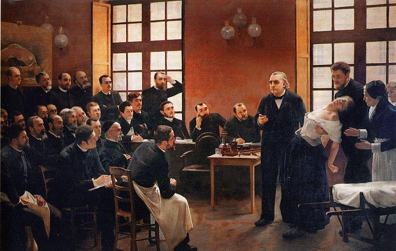佛洛伊德在1885年到巴黎向馬丁.沙可拜師。(Wikipedia/public domain)
