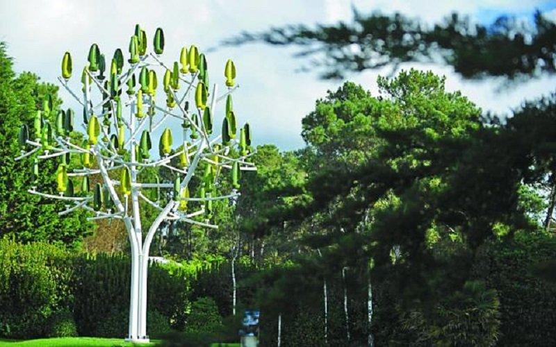 與周圍景緻可以融合的「風樹」。(圖片來源Getty)