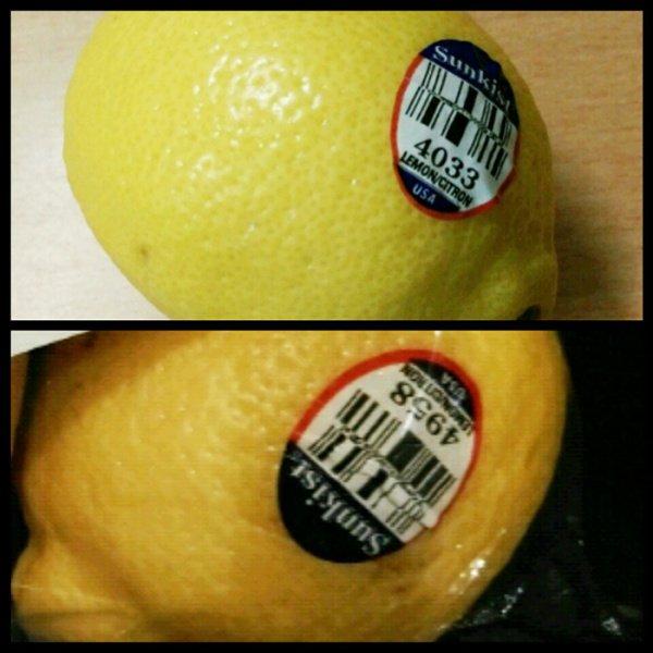 以檸檬來說,4958一般會比4033貴,因為前者體積較大。銷售商在採購時能以號碼區隔不同產品,分開包裝和定價,也方便結算。