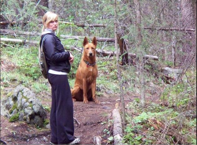 天如專題0924-02-「哈寶寶」每天最重要的工作就是跟巡山員媽媽去巡山,過得很幸福。(聞姐提供).jpg