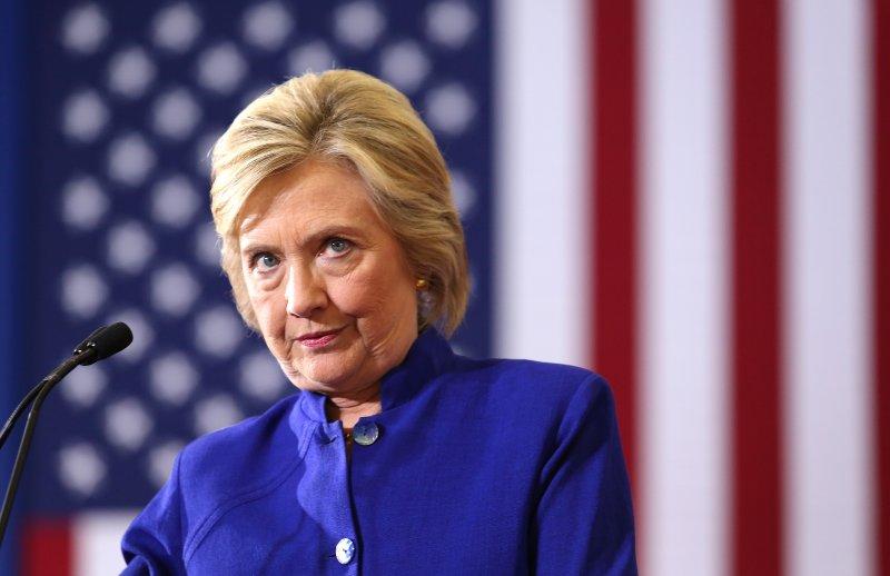 9月26日美國迎來2016總統大選第一場電視辯論。希拉蕊(美聯社)
