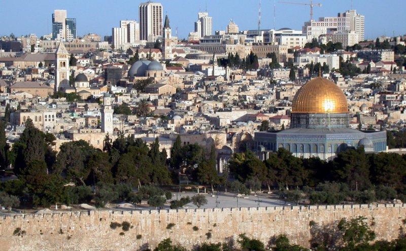 川普表示,若當選總統將承認耶路撒冷為以色列首都。(圖/gnuckx@flickr)