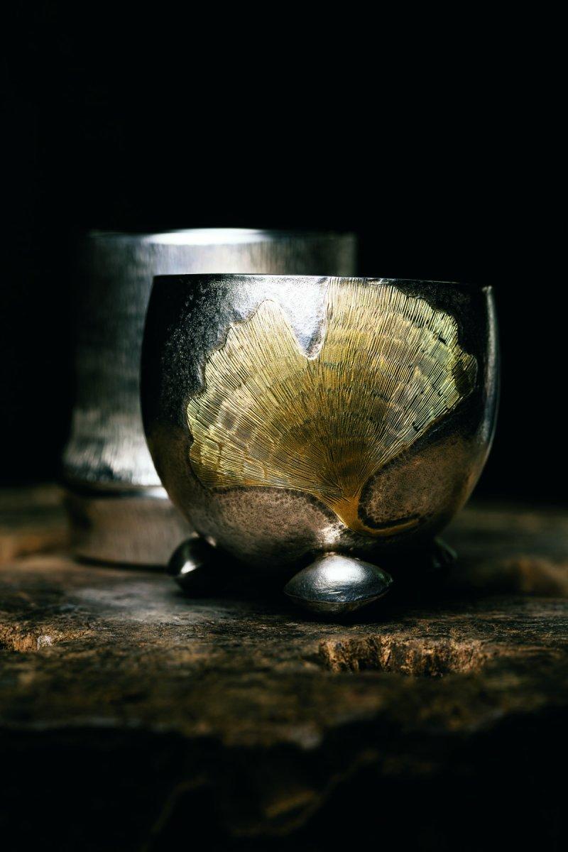 東京銀器蘊含內斂美感。(圖/寫樂文化提供)