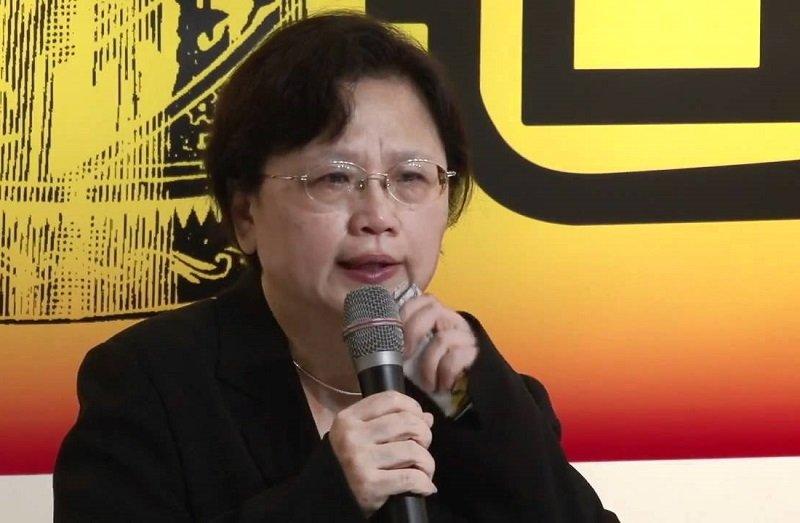 涉貪被判刑八年定讞的前交通部長郭瑤琪,保外就醫後出書喊冤。(視頻截圖)