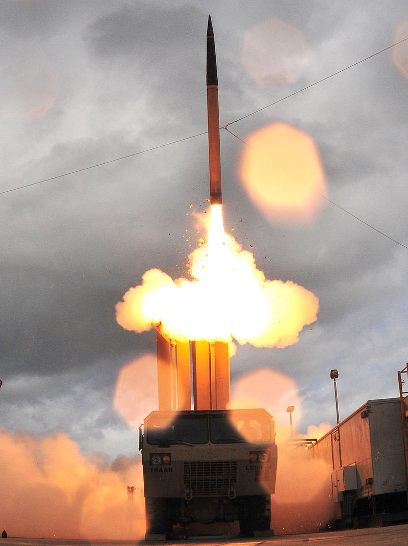 終端高空防禦系統,也稱為「薩德」。( United States Missile Defense Agency@wikipedia/public domain)