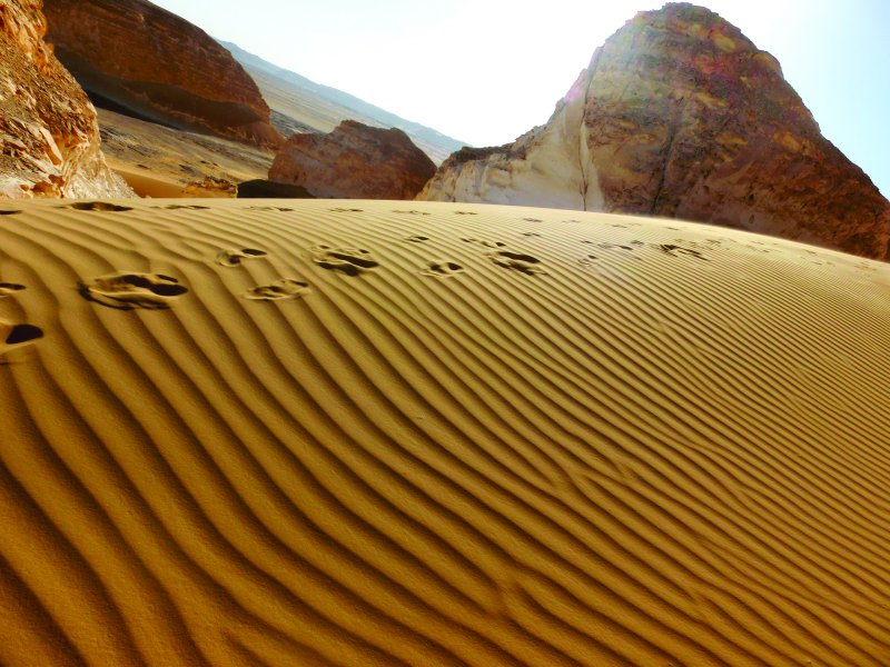 埃及的黑白沙漠。(圖/凱特文化)