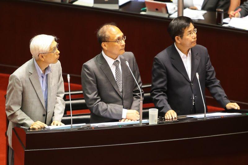 20161004-行政院長林全4日至立院備詢。(顏麟宇攝)