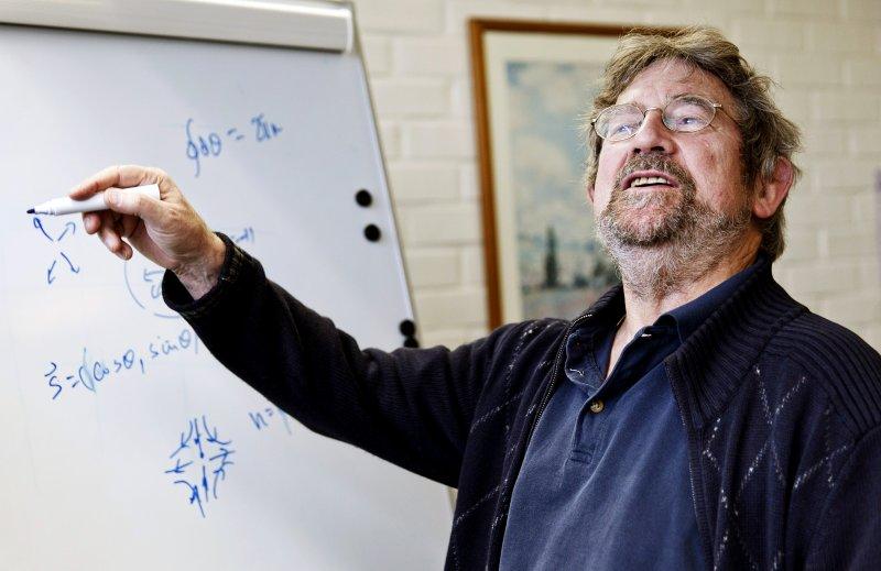2016年諾貝爾物理學獎得主寇斯特利茲(John Michael Kosterlitz)(AP)
