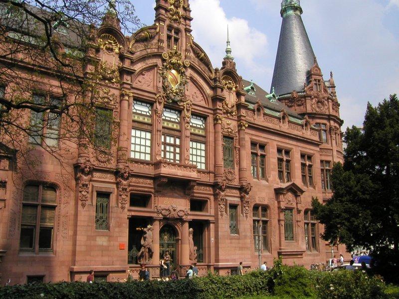 海德堡大學歷史悠久,以Semper Apertus 「永遠開放」為校訓。(圖/擷取自Jan Beckendorf@wikimedia)